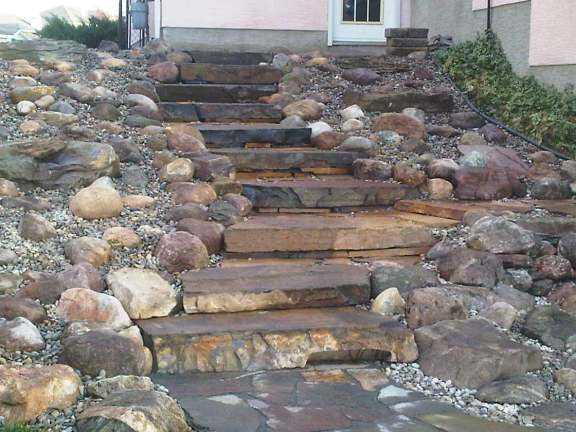 Landscaping Steps On A Slope